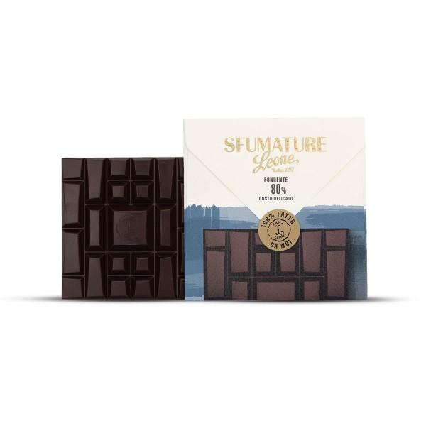 Leone Sfumature Bitterschokolade 80% Kakaoanteil 75 g mild online kaufen bei Kaffee Rauscher