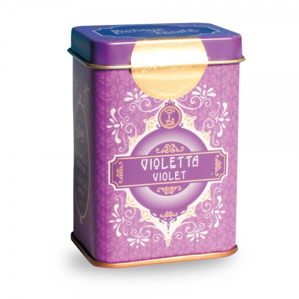 Leone Pastillen Veilchen 45 g Pastiglie Retrochic Dose online kaufen bei Kaffee Rauscher