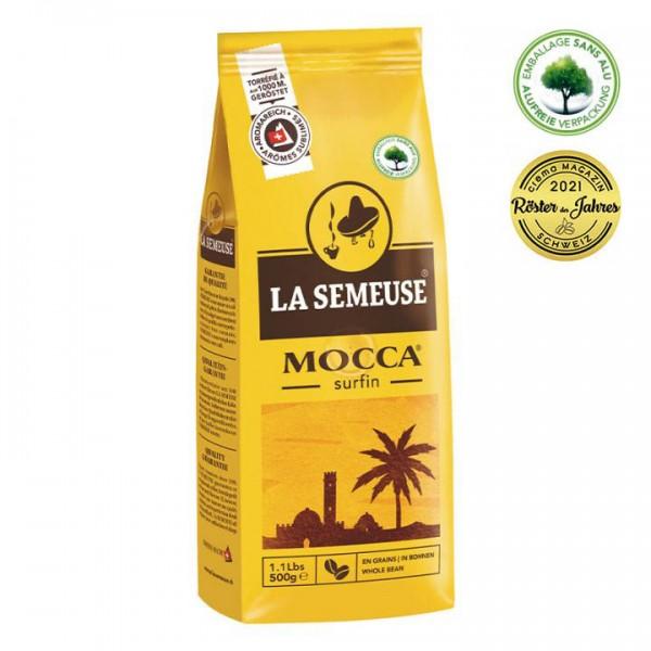 La Semeuse Mocca Surfin 500g Bohnen online kaufen bei Kaffee Rauscher