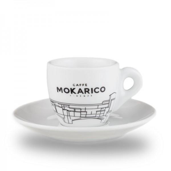 Mokarico Cappuccinotasse weiss online kaufen bei Kaffee Rauscher