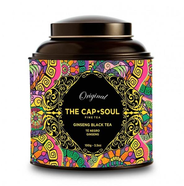 The CapSoul Ginseng Black Tea - 100 g lose online kaufen bei Kaffee Rauscher