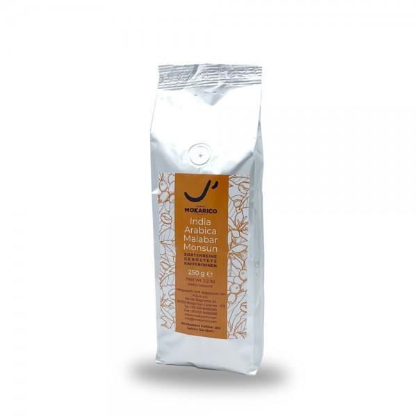 Mokarico India Monsooned Malabar 250g Bohnen online kaufen bei Kaffee Rauscher