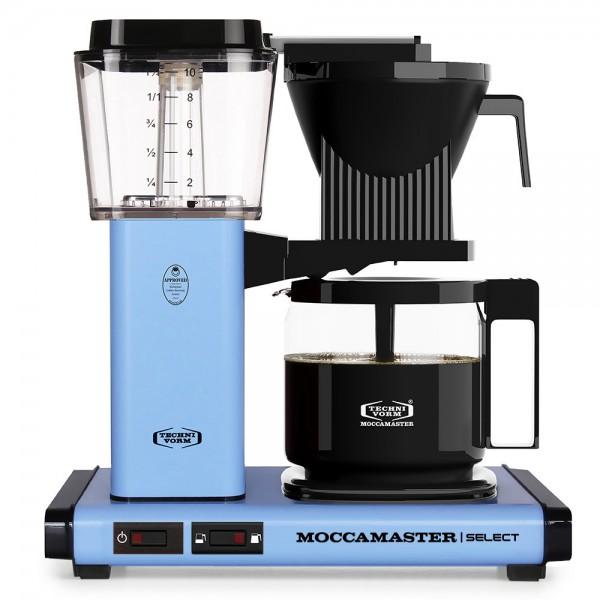 Moccamaster KBG Pastel Blue Filterkaffeemaschine online kaufen bei Kaffee Rauscher