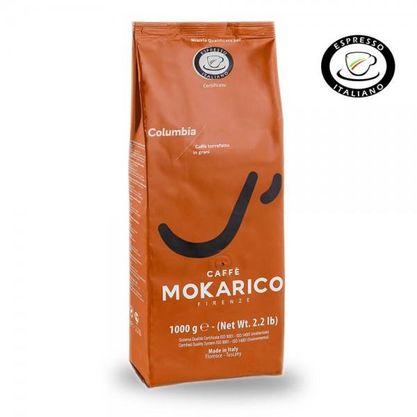 Mokarico Columbia Espresso 1.000g Bohnen online kaufen