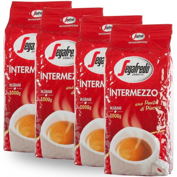 Segafredo Intermezzo Espresso 4 x 1.000g Bohnen online kaufen