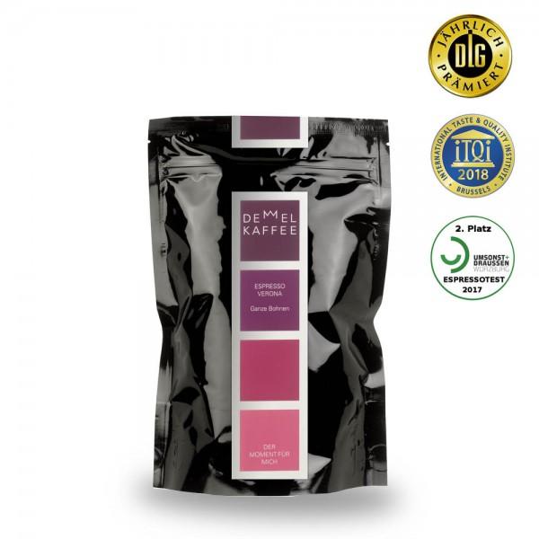 Demmel Kaffee Espresso Verona 250g Bohnen online kaufen bei Kaffee Rauscher
