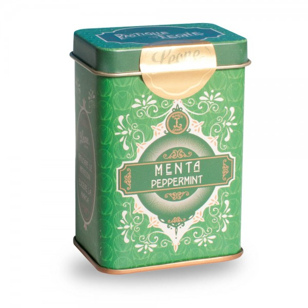 Leone Pastillen Minze 45 g Pastiglie Retrochic Dose online kaufen bei Kaffee Rauscher