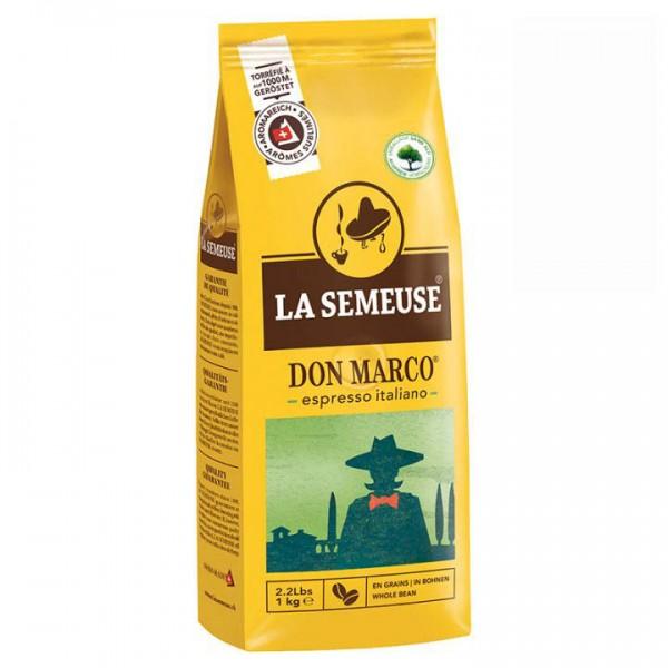 La Semeuse Don Marco Espresso 1000 g Bohnen online kaufen bei Kaffee Rauscher