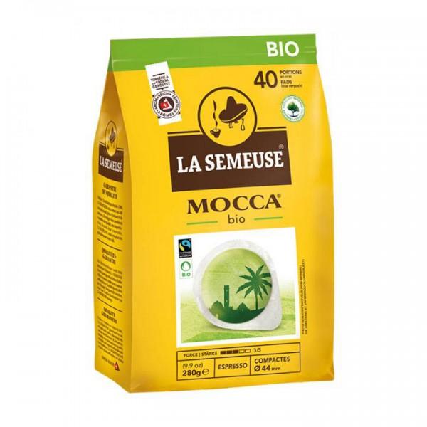 La Semeuse Mocca Bio ESE Pads 40 Stück ohne Alu-Umverpackung