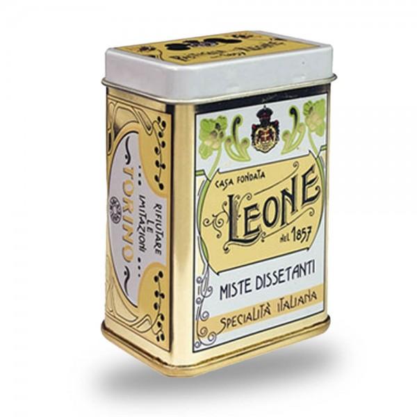 Leone Pastillen gemischte Früchte 45 g Nostalgie-Dose online kaufen bei Kaffee Rauscher