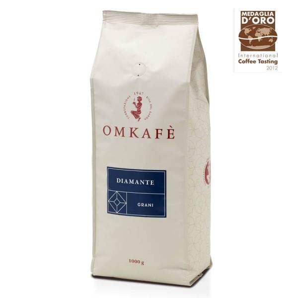 Omkafè Diamante Espresso 1000g Bohnen online kaufen bei Kaffee Rauscher