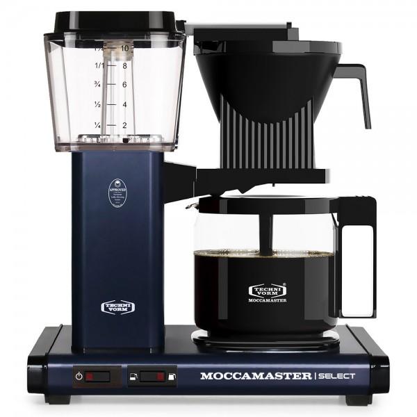 Moccamaster KBG Midnight Blue Filterkaffeemaschine online kaufen bei Kaffee Rauscher