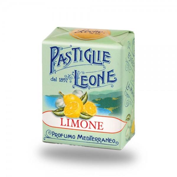 Leone Pastillen Zitrone 30 g - Pastiglie Limone online kaufen bei Kaffee Rauscher