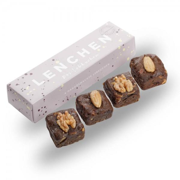 Lenchen - Der Lebkuchen - 4 Stück in einer Box - 100 g online kaufen bei Kaffee Rauscher