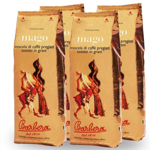 Barbera Mago Espresso 4 x 1.000g Bohnen Aktion online kaufen