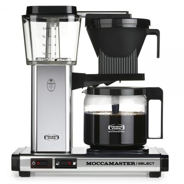 Moccamaster KBG Silber poliert Filterkaffeemaschine online kaufen