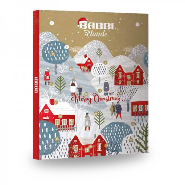 Babbi Adventskalender mit Waffel-Spezialiäten 318 g online kaufen