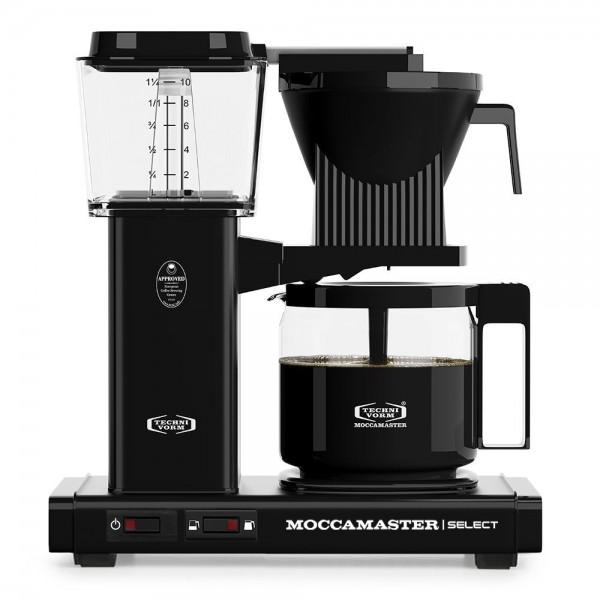 Moccamaster KBG schwarz glänzend Filterkaffeemaschine online kaufen