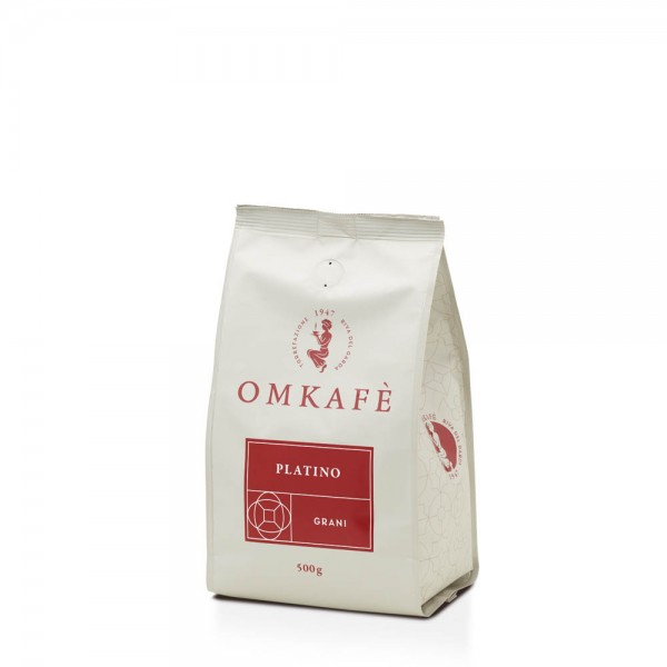 Omkafè Platino Espresso 500g Bohnen online kaufen bei Kaffee Rauscher