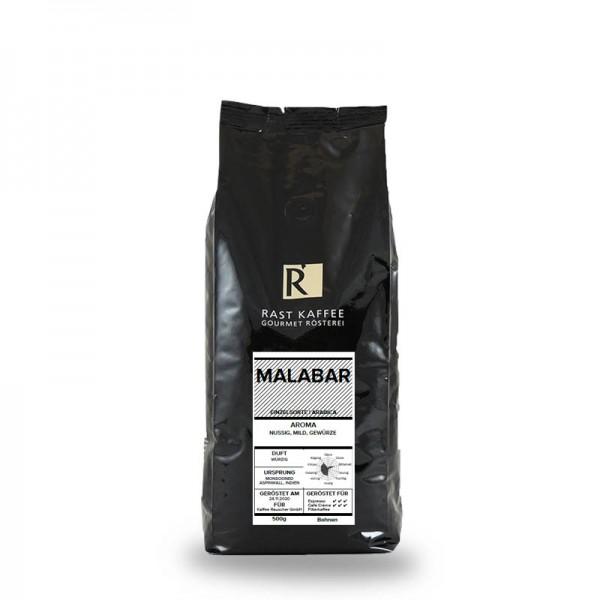 Rast Kaffee Monsooned Malabar 500g Bohnen online kaufen bei Kaffee Rauscher