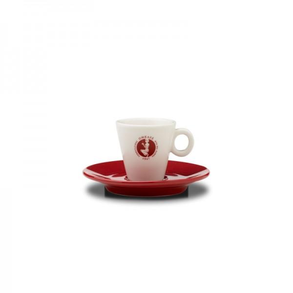 Omkafé Espressotasse plus Untertasse online kaufen bei Kaffee Rauscher