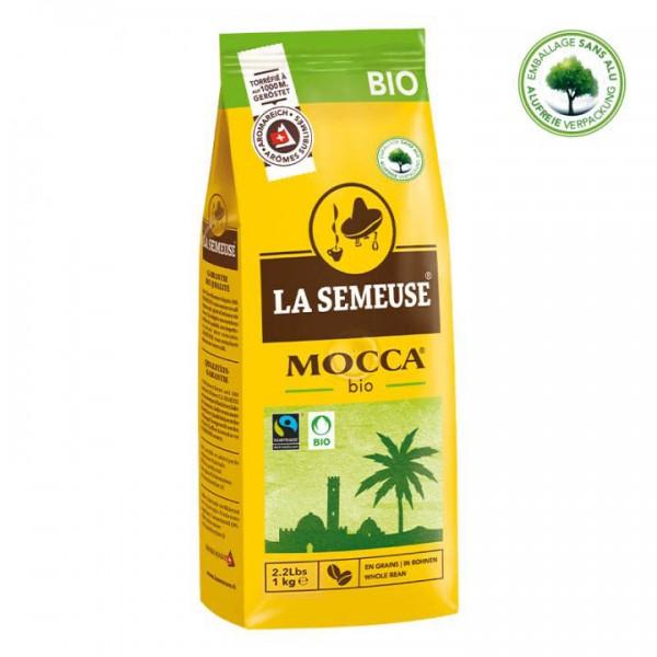 La Semeuse Mocca Bio 1000g Bohnen online kaufen bei Kaffee Rauscher