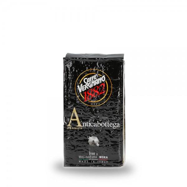 Caffè Vergnano 1882 Antica Bottega Espresso 250g gemahlen