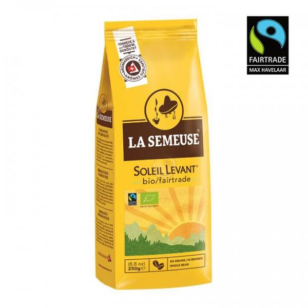 La Semeuse Soleil Levant Fair Trade 250g Bohnen online kaufen bei Kaffee Rauscher