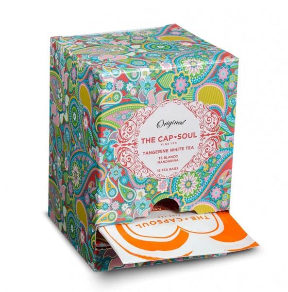 The CapSoul Tangerine White Tea - 15 Teebeutel online kaufen bei Kaffee Rauscher