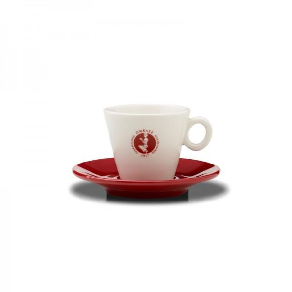 Omkafé Cappuccinotasse plus Untertasse online kaufen bei Kaffee Rauscher